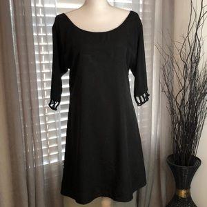 Vfish Women's Black Dress. SZ L.